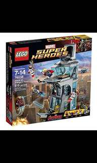 76038 Lego 76038 Marvel Super Heroes Attack On Avengers Tower - Age Of Ultron