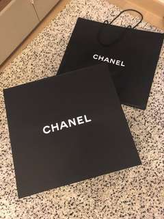 特大Authentic Chanel Paper box 超大盒+ paper bag(large)