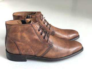 Diamond Walker limited edition premium leather boots