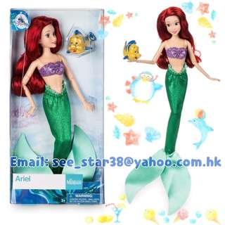 美人魚 Ariel Disney Store Animators collection Classic Doll