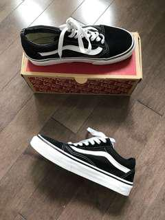 VANS black and white old skool (low-top)