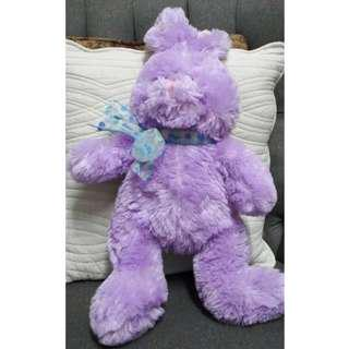 Purple Easter Bunny