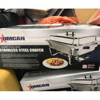 STAINLESS STEEL CHAFER - BRAND NEW