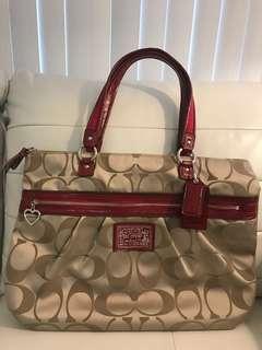 Brand New Large Coach Signature Tote Handbag