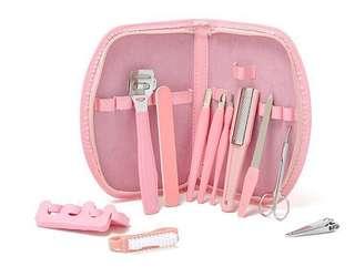 🚚 芭比粉色美甲套裝護理