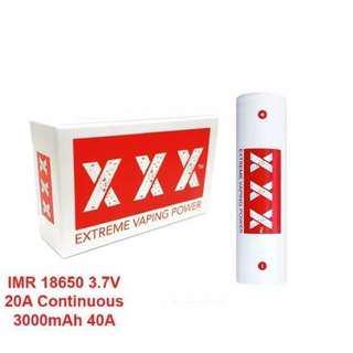 Batre triple xxx extrem power vaping free charger!