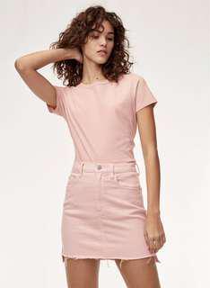 Wilfred Free Denim Skirt