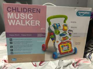 Brand new push walker with educational toys
