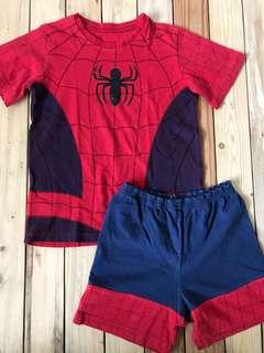 Mothercare Spiderman set