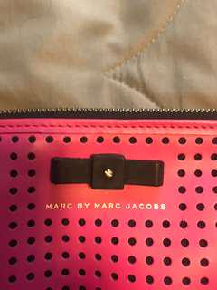 Bright pink Marc Jacobs cross body bag
