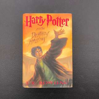 HARRY POTTER and the Deathly Hallows (Hardbound)