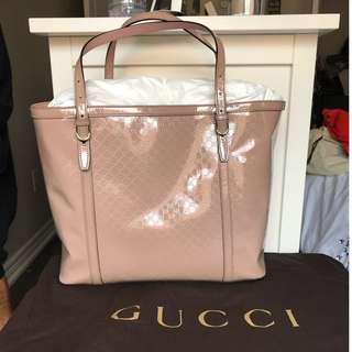 Gucci Patent leather Tote (Brand new)