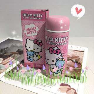 🚚 🆕全新Hello Kitty不銹鋼真空保溫瓶200ml
