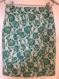 REVIEW High Waisted Skirt. Size 6