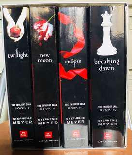 Twilight Series by Stephenie Meyer (Set)