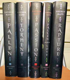 Fallen Series Hardbound by Lauren Kate (Set)