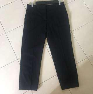 MANGO BASICS Cropped Pants
