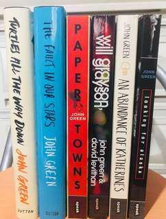 John Green Books (Set)