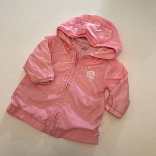 Baby pink jacket 風褸 9m