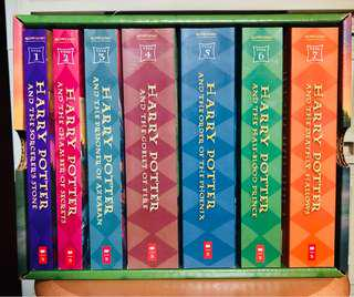 Harry Potter Collectors Edition Set by JK Rowling