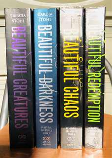 Beautiful Creatures by Garcia and Stohl (Set)