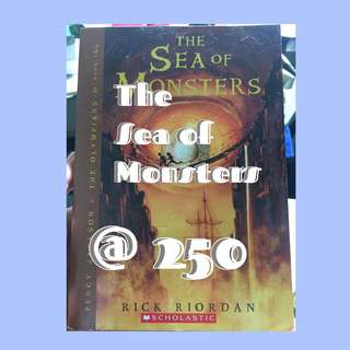 Rick Riordan's The Sea of Monsters and The Last Olympian Percy Jackson Books