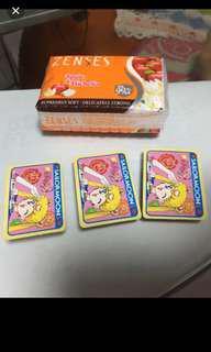 絕版迷你 Sailor Moon cards