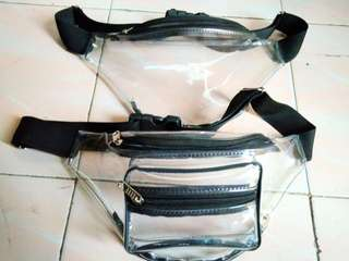 Transparent Waterproof Waist Bag Handmade