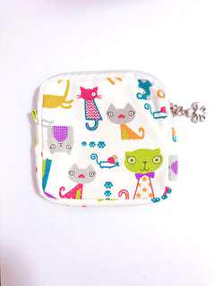 Kitten Coin Pouch Storage Bag