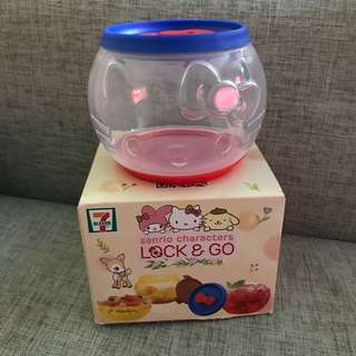 7-11 Lock & Go 收納盒-Hello Kitty