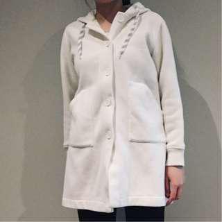 Soft & cozy white coat