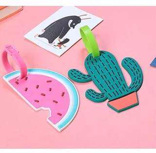 🚚 Watermelon / Cactus Luggage Tag | Gifts | Teacher's Day | Christmas