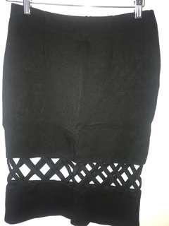 MINK PINK High Waisted Skirt, Size Small