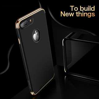 3 in 1 Detachable Electroplated Case  iphone 7/8 7+/8+