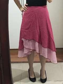 Esmeralda tie skirt