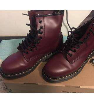 Dr Martens - 1460 Cherry Red Rouge 7UK