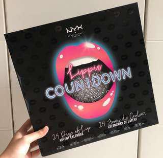NYX 24pcs Lippie Countdown Advent Calendar Ser
