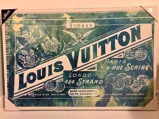 LOUIS VUITTON Canvas Art - Retail: $439