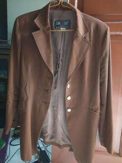 Jas / Blazzer Casual warna coklat ORIGINAL