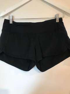 LULU LEMON Gym Shorts, Size 8-10