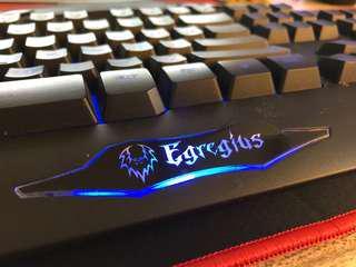 Prolink Egregius Gaming Keyboard with multiple backlit LED