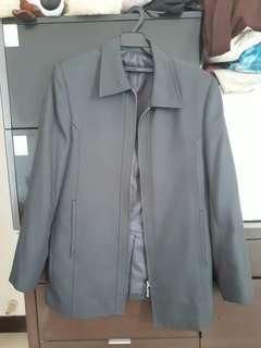 🚚 深灰色西裝外套#半價衣服市集