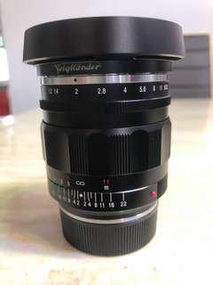 Voigtlander Nokton 35mm f1.2 Aspherical vers. II VM (Leica)