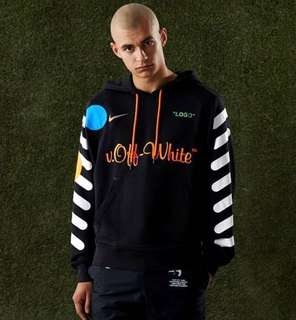 Nike X Offwhite Hoodie (Black)