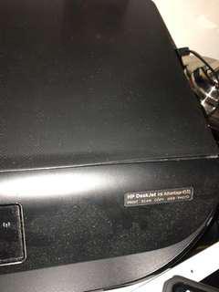 HP Deskjet Ink Advantage 4535 printer with ink