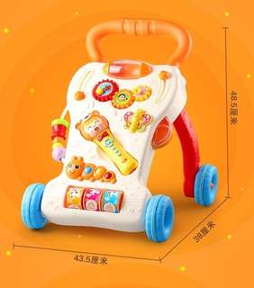 WinFun Grow With Me Musical Baby Walker