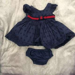 Dress & Bloomer