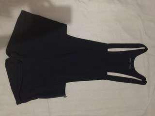 Stravidarius Black Jumpsuit