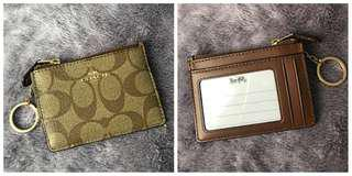 Authentic and Brandnew Coach Coin Purse and Card Holder