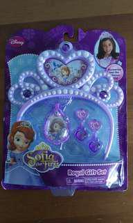 Brand new disney sofia royal gift set
